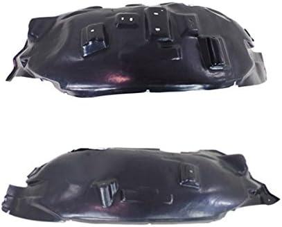 New Set of 2 LH /& RH Side Front Inner Fender Splash Shield Liner Fits Ram 1500