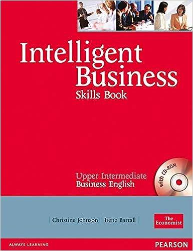 Intelligent Business Upper Intermediate Skills Book Audio