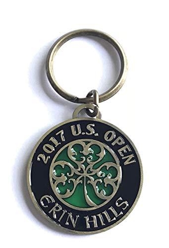 2017 u.s. open keychain erin hills golf shamrock logo new usga