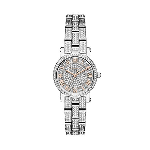 Michael Kors Women's Petite Norie Silver Crystal One Size