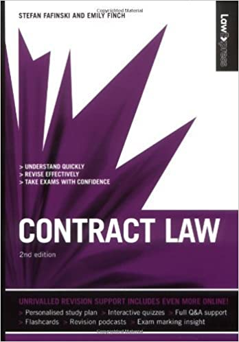 Law Express: Contract Law (Revision Guide) by Fafinski, Stefan, Finch, Emily (2009)