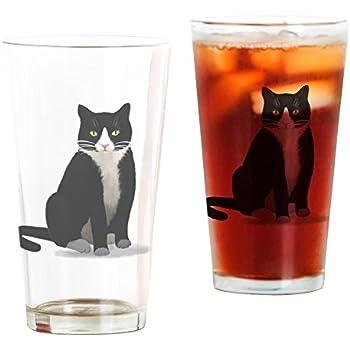 1134c61415b8 Amazon.com: CafePress Kitty Cat Pint Glass, 16 oz. Drinking Glass ...