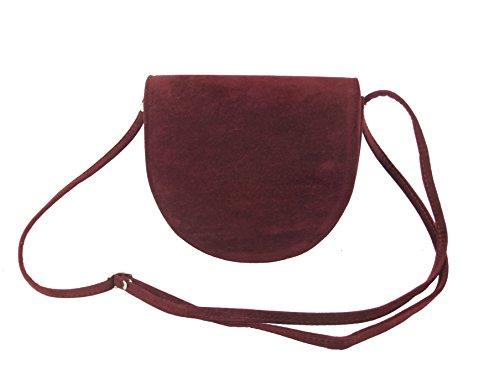 Bag Beauty Shoulder Cross LONI Burgundy Saddle Body OB4xXz