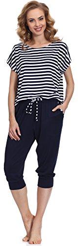 Merry Style Pijama para Mujer MS540 Gris/Navy