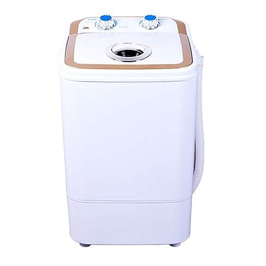 JCOCO Mini lavadora Semi-automático pequeño barril individual para ...