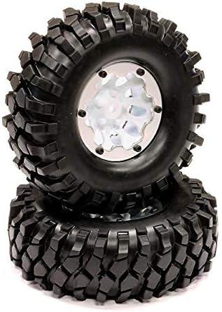 Integy RC Model Hop-ups C23729WHITE 10H Composite 1.9 Wheel w/Al