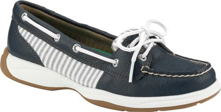 Sperry Top-sider Donna Laguna Barca Scarpe Navy / Seersucker
