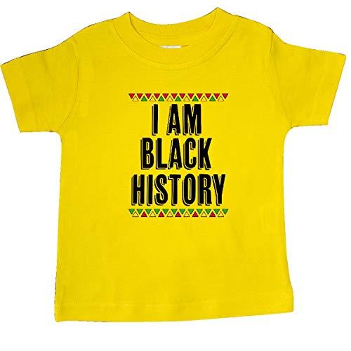inktastic - I am Black History Month Baby T-Shirt 24 Months Yellow 33cbf