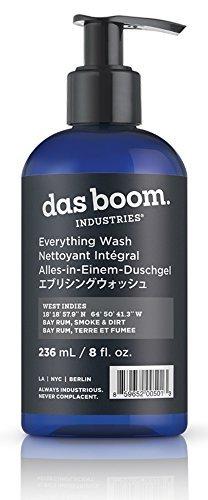Das Boom Everything Wash 8 Oz - West Indies (Bay Rum, Smoke, & Dirt)
