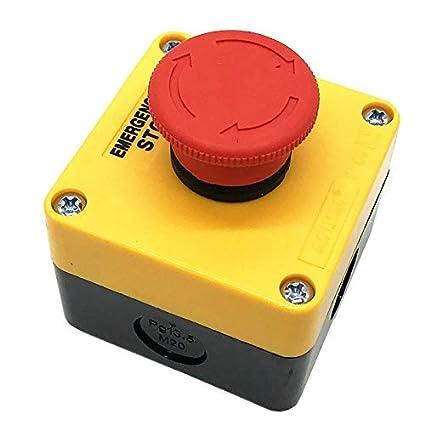 RoboMall - Interruptor de Emergencia para Impresora 3D (fresadora ...
