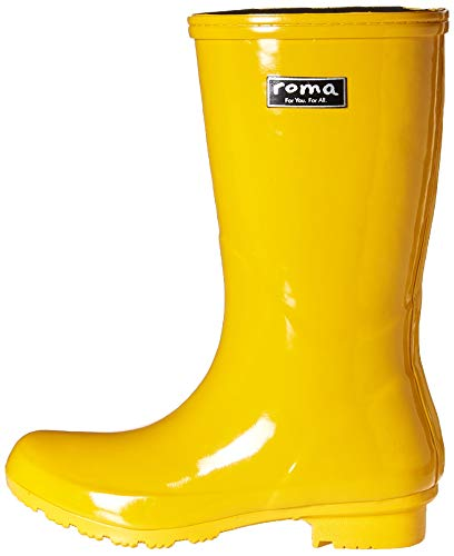 Mid Women's Roma Rain Yellow Boots Boots EMMA Ut0BH