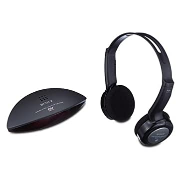 Sony MDRIF140K - Auriculares supra-aurales inalámbricos (hasta 7 m), color negro: Amazon.es: Electrónica
