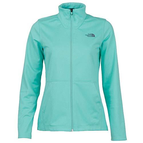 The North Face Women's Tech Mezzaluna Full Zip, Mint Blue Heather, Size XS ()