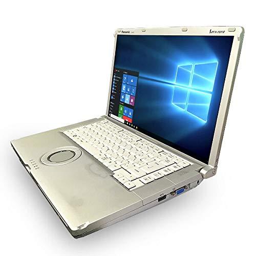 ノートパソコン 中古 Panasonic Let'snote CF-B10EW Core i5 4GBメモリ 15.6インチ DVDマルチ Windows10 Office 付き B07HK9L1QQ