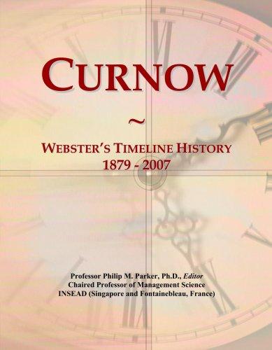Curnow: Webster's Timeline History, 1879 - 2007