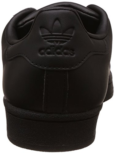 Adidas Damen Superster Glossy Teen Basketballschuhe Schwarz (cblack / Cblack / Ftwwht)