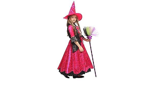 ZTZKS Magníficos Disfraces de Brujas de Halloween para niñas ...