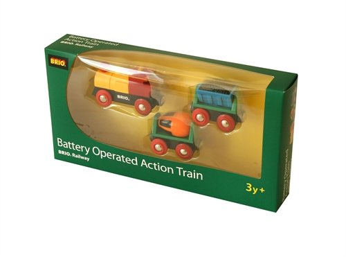 BRIO 33535 Battery Operated Action Train