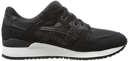 Retro III Asics Lyte Black Men's Gel Sneaker Black qxt8T7Iw