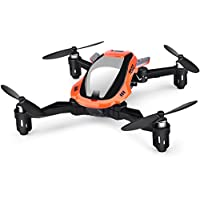 TOZO Q4040 Drone RC Quadcopter Altitude Hold Headless RTF 3D 360 Degree Flips & Rolls 6-Axis Gyro 4CH 2.4Ghz Remote Control Helicopter Height Hold Steady Super Easy Fly for Training. Orange