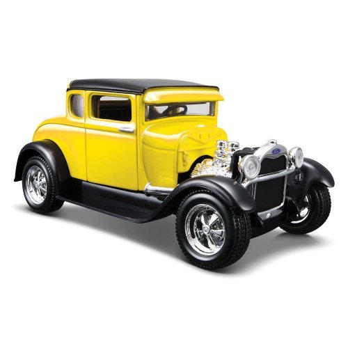 Maisto 1/24 Scale Diecast 1929 Ford Model a in Color Yellow by Maisto -  2762852