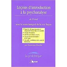 lecons d'introd. a la psychanalyse de freud (philotheque no. 15)