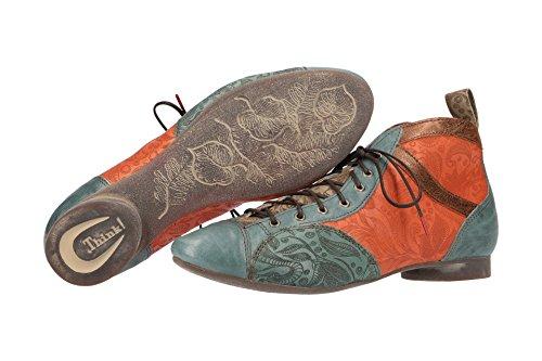 Rot uni Think 282288 37 EU Boots Femme Guad Desert qXpx4XTRw