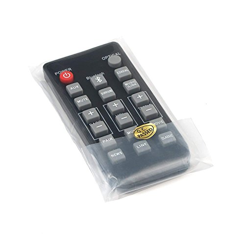 New Remote Control Replacement for Philips Sound Bar 996510054954, 996510050576, 996510063326 CSS2123 CSS2123B/F7 CSS2133B/F7 CSS2133 Model with CR2025 Battery Inside (Remote Philips)