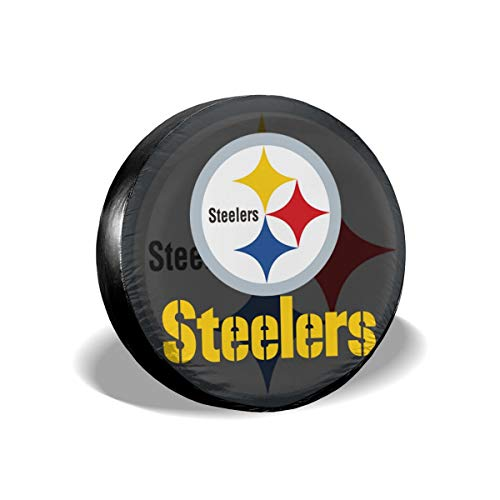 Aoskin Pittsburgh Steelers Die Universal Fit Tire Cover ()