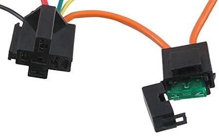 American V 180 F eléctrico ventilador Kit de interruptor de temperatura termostato sonda de push-in Radiador Fin: Amazon.es: Coche y moto