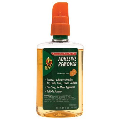 Duck Products - Duck - Adhesive Remover, 5.45 oz. Spray Bott