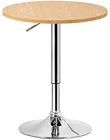 74a95a3f043d5 WOLTU  892 Table de Bar en MDF avec Pied