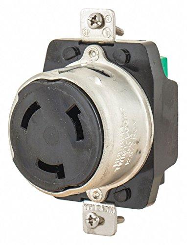 50A Marine Locking Receptacle 3P 4W 125/250VAC