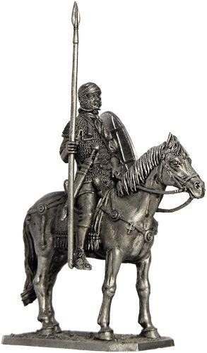 The Rider of The Auxiliary Cavalry (Rome, 1st Century AD) Tin Toy Soldiers Metal Sculpture Miniature Figure Collection 54mm (Scale 1/32) (A87)