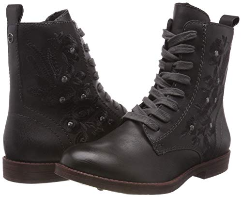Tamaris Boots Combat Grey anthracite 214 Women''s 25114 21 a1awnHxPzv