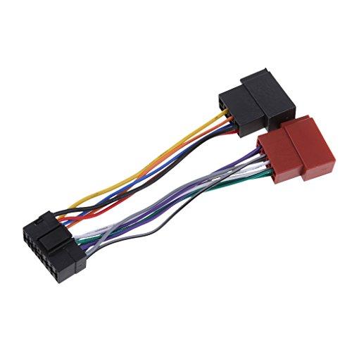 Shiwaki Car Stereo Radio Wiring Harness Loom Wire 16Pin: Amazon.co.uk: Electronics