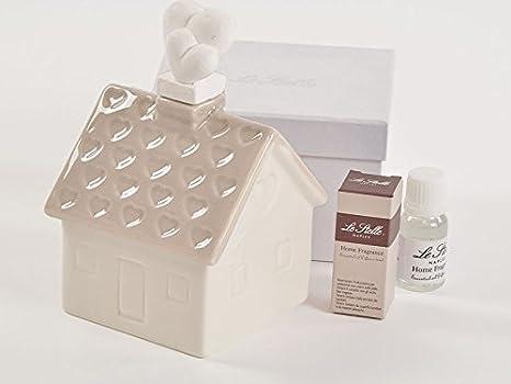 Subito disponibles 4 piezas Ambientador casa Casita En Caja Regalo con Essenza BOMBONIERA: Amazon.es: Hogar