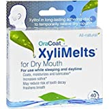 Orahealth OraCoat XyliMelts For Dry Mouth - 40 Discs, Pack of 5