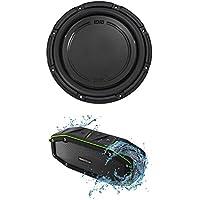 "Polk Audio DB1242SVC 12"" 1110 Watt Single 4-Ohm Car Audio Subwoofer Sub+Speaker"