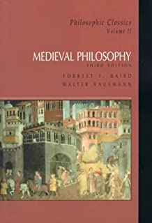 Amazon philosophic classics ancient philosophy volume i medieval philosophy philosophic classics volume ii 3rd edition fandeluxe Image collections