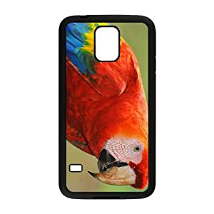 Cute Parrot Hight Quality Plastic Case for Samsung Galaxy S5