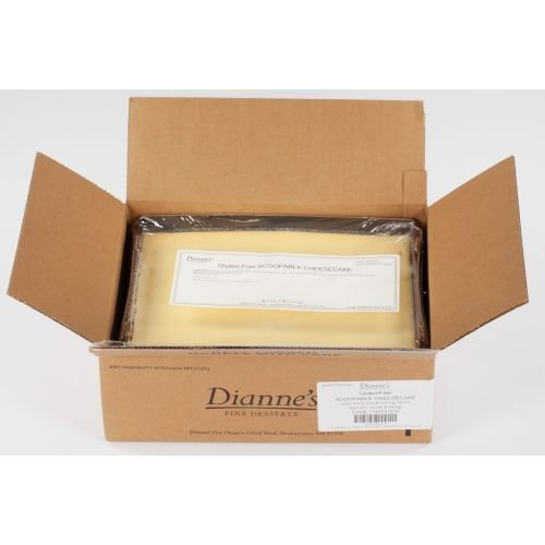 Diannes Gluten Free Scoopable Cheesecake, 80 Ounce -- 2 per case. by Diannes Fine Desserts