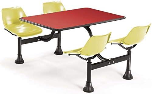 Amazon.com: Mesa de restaurante y sillas – Andryx 24 x 48 ...