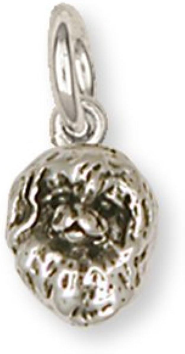 Pekingese Jewelry Pekingese Charm Handmade Sterling Silver Dog Jewelry PK9-C