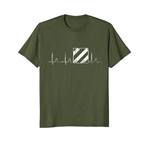 3rd Infantry Division Pulse Distressed Gun Soldier -