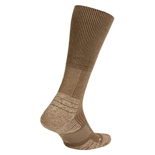 - Nike Men`s Special Field Merino wool and Thermolite Blend Socks 1 Pair (Coyote(SX9853-907)/Mushroom, Large)