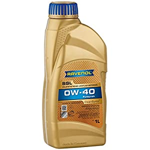 RAVENOL J1A1555 SAE 0W-40 Motor Oil - SSL Super Synthetic Oil - MB 229.5, VW 502 00, 505 00 Approved (1 Liter)