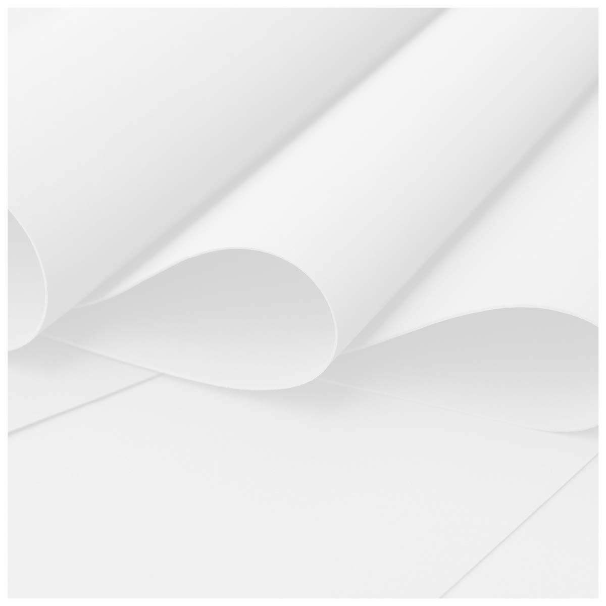 White Flower Making Foam 0.8mm Pack Of 30-30cmsx40cms
