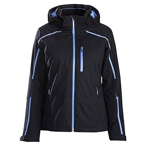 Descente Kenna Insulated Ski Jacket Womens Black/Iris