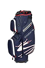 If you like to ride or push this is the bag for you. The Cobra ultralight cart bag (5.3 lbs) is incredibly light and provides maxiumum storage. Availble in 7 different colors and features a 14 way top with full length Club dividers, grab top ...